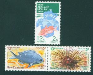 New Zealand MNH B103-5 Fish & Health 1979