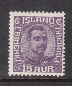 Iceland #117 Mint