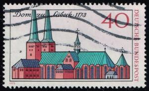 Germany #1125 Lubeck Cathedral; Used (0.30)