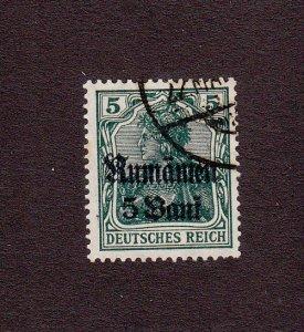 Romania Scott #3N8 Used