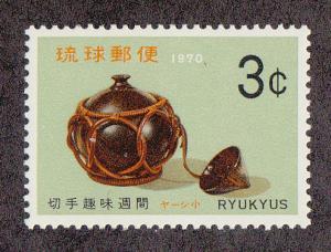 Ryukyu Islands Saki Flask (Scott #194) MNH