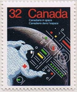 Canada Mint VF-NH #1046 Canadians in Space