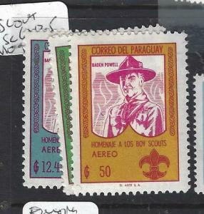 PARAGUAY  (P2505B)  SCOUTS  SC 643-5   MOG
