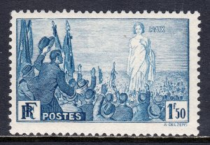 France - Scott #321 - MLH - SCV $12