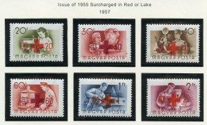 HUNGARY SCOTT#B211/18  MINT NEVER HINGED AS SHOWN--SCOTT VALUE $7.85