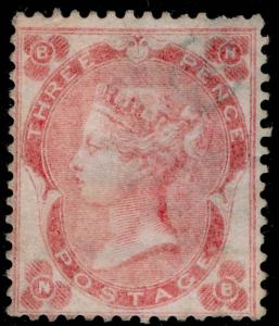 SG77, 3d pale carmine-rose, M MINT. Cat £2500. NB