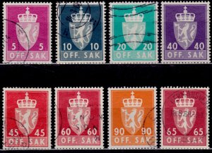 Norway, 1955-74, National Arms - New Edition, used