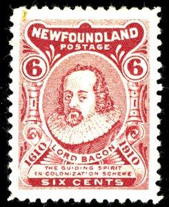Newfoundland #92A MINT OG HR