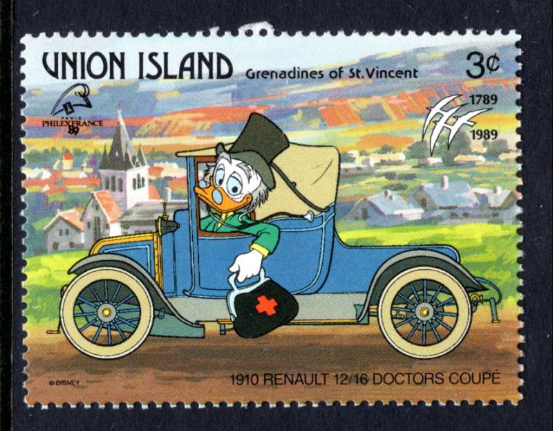 St Vincent Grenadines Union Island 243 Disneys MNH VF