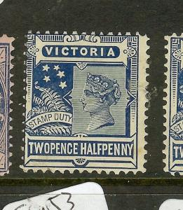 VICTORIA (P1912B) QV 2 1/2D     SG360    MOG