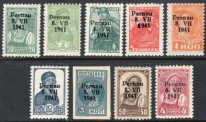 ESTONIA LOT 1 PERNAU