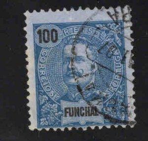 Funchal Scott 27 Used Dark Blue color nice stamp