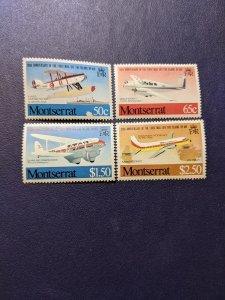 Montserrat 472-475 XFNH complete set, CV $3.50