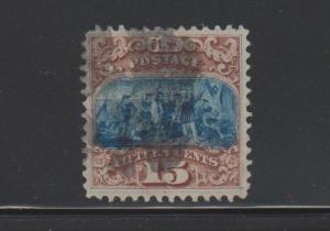 118 VF+ used PF certificate neat cancel with nice color cv $ 800 ! see pic !