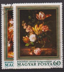 Hungary Sc#2478-2479 Used