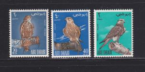 Abu Dhabi 12-14 Set MNH Birds (A)