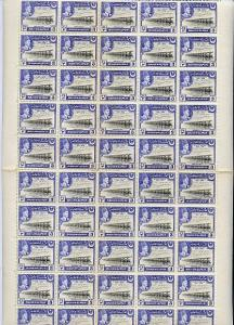 Bahawalpur 1949 S Jubilee of Accession 3p (Irrigation) co...