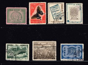 CUBA STAMP Airmail Stamps Collection Lot #S3