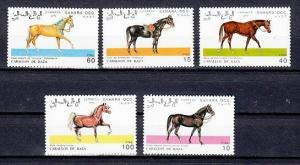 Sahara, 1993 Cinderella issue. Various Horses issue.
