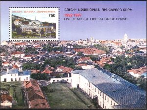 Armenia / Karabakh 1998 Architecture Liberation of Shushi S/S MNH**