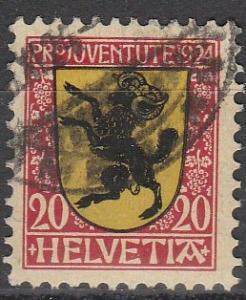 Switzerland #B31 F-VF Used (S382)