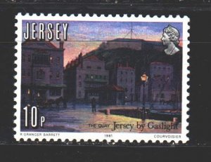 Jersey. 1981. 258 from the series. Embankment, ship. MNH.