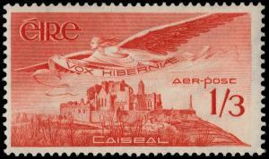 ✔️ IRELAND 1954 - AIR MAIL ROCK OF CASHEL - SC. C6 MNH OG [IR0125]