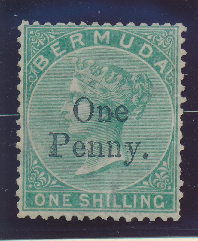 Bermuda Stamp Scott #15, Mint/Unused No Gum