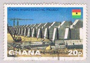 Ghana Dam 20p 1 (AP119818) ...