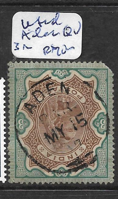ADEN (P1702B)  QV INDIA 3R ADEN SON CDS UR CORNER ROUNDED FU