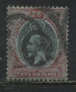 Southern Nigeria KGV 1912 2/6d used