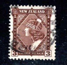 NEW ZEALAND 190 Maori girl wearing Tiki