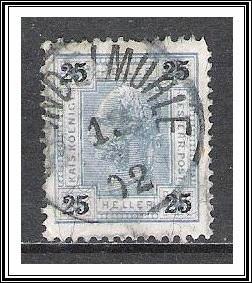 Austria #77a Franz Josef Used