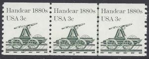 #1898 3c Handcar 1880s PNC/3 P#2 1983 Mint NH