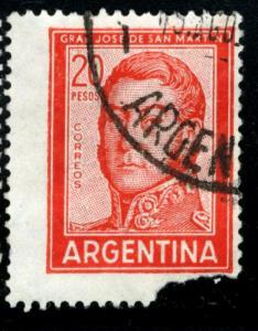 Argentina - SC #698A - USED FAULT - 1967 - Item ARGENT043