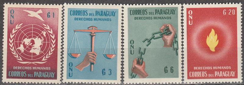 Paraguay #565-8  MNH (S1004L)