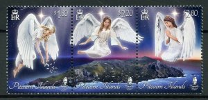 Pitcairn Islands Christmas Stamps 2019 MNH Angels over Pitcairn 3v Strip