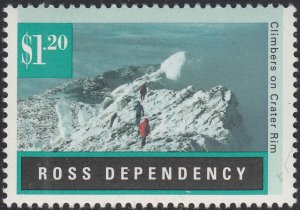 Ross Dependency 1996 MNH Sc L40 $1.20 Climbers on Crater Rim