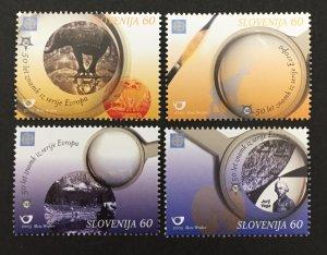 Slovenia 2006 #602-5, Europa 50th Anniversary, MNH.