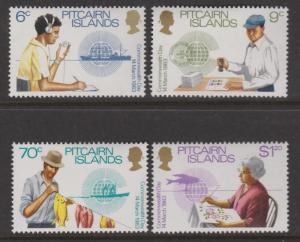 Pitcairn Islands 1983 Commonwealth Day Set Sc#221-224 MNH