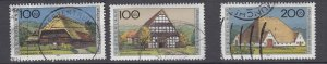 J28644, 1995 germany hv.s of set used #b787-9 farm houses