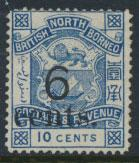 North Borneo  SG 57 Mint  OPT  please see scans & details
