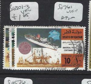 QATAR  (P0304BB)    SG 501-3      VFU