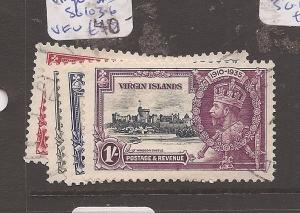 Virgin Islands SG 103-6 VFU (3ccm)