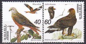 Armenia 499-500 1995 Birds Cpl MNH