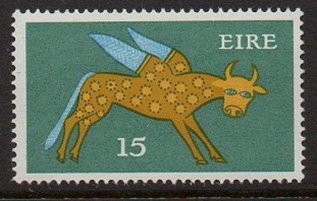 Ireland 1975 Winged Ox VF MNH (356)
