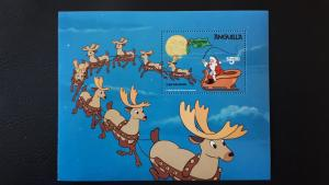 Disney - Anguilla - Christmas 1981. ** MNH Block