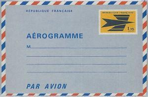 FRANCE - AIR LETTER / AEROGRAMME : # 2