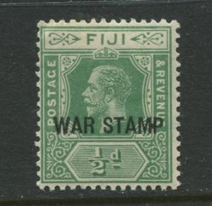 Fiji - Scott MR1 - KGV War Stamp Issue - 1916 - MNH - Single 1/2d Stamp