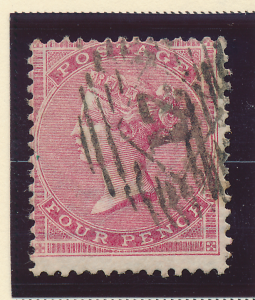 Great Britain Stamp Scott #24, Used - Free U.S. Shipping, Free Worldwide Ship...